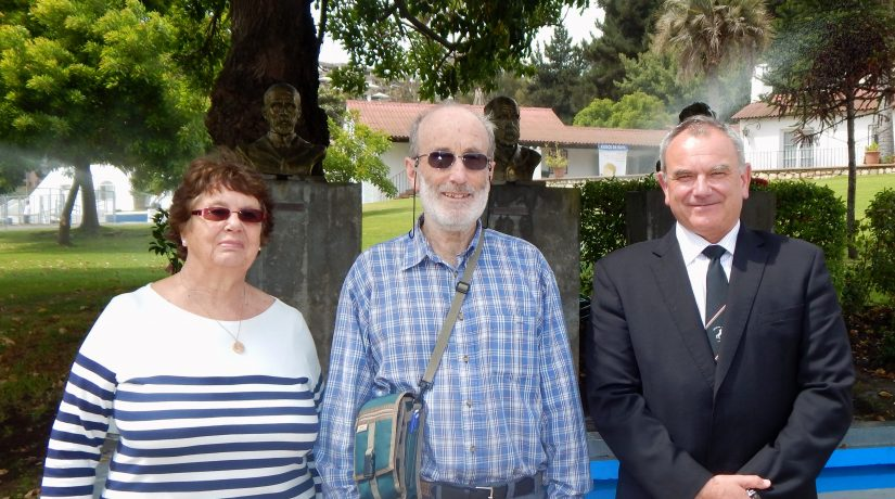Mr. Sutherland's great grandson visits Mackay
