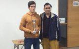 Alumno de IVº medio A –  Carlos Valle obtiene primer lugar en Ajedrez.
