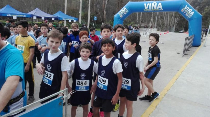 XIII  Cross Country  Olimpiadas Escolares de Viña del Mar
