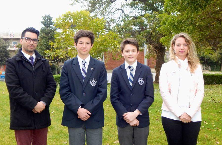 Alumnos Finalistas para ESU Writing Competition