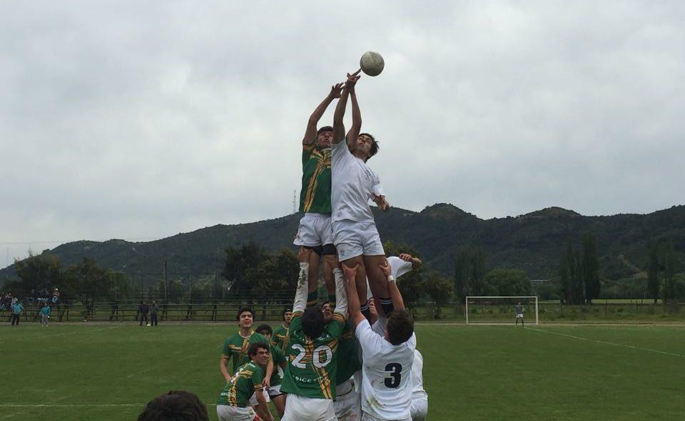 Rugby Senior vs Orchard College en Curicó