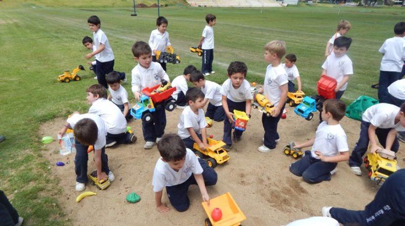 Kinder: Actividad de Reciclaje
