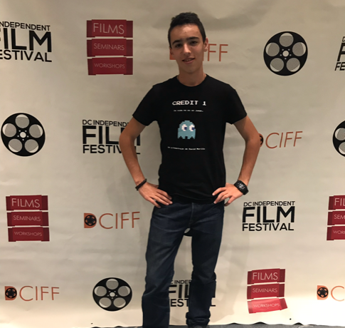 David Murillo: 3er lugar Festival de Cine Independiente de Washington