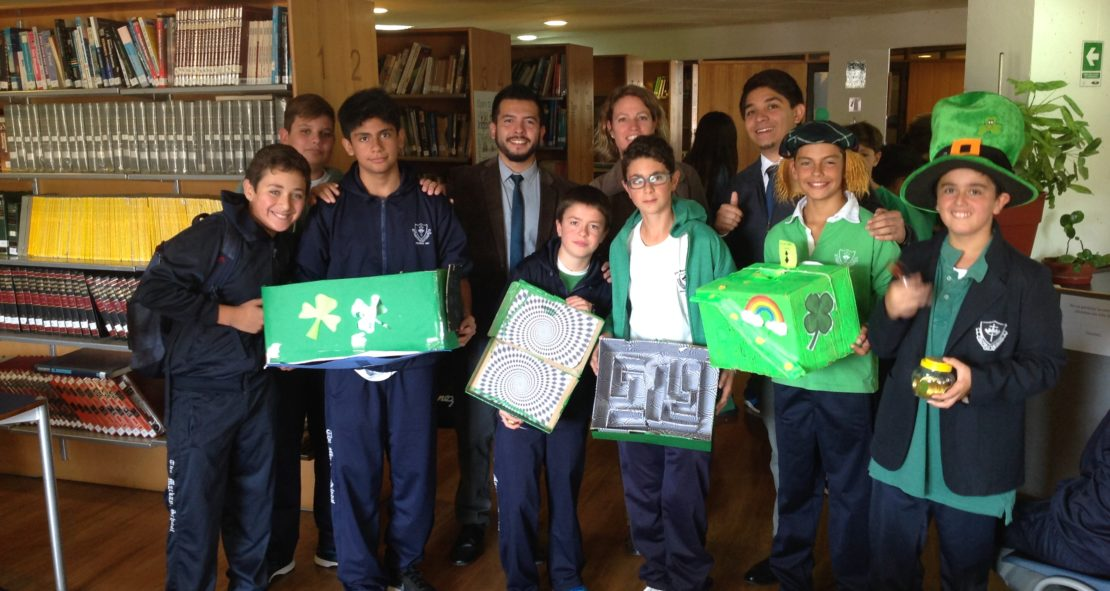 ¡Celebrando St Patrick's en el Mackay!