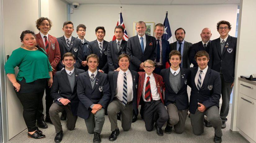 Regresaron estudiantes desde Nueva Zelanda