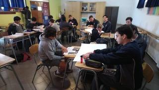 Llegada alumnos de Intercambio Scots College NZ