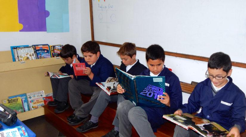 PROYECTO BIBLIOTECA DE AULA 4tos Y  5tos BÁSICOS