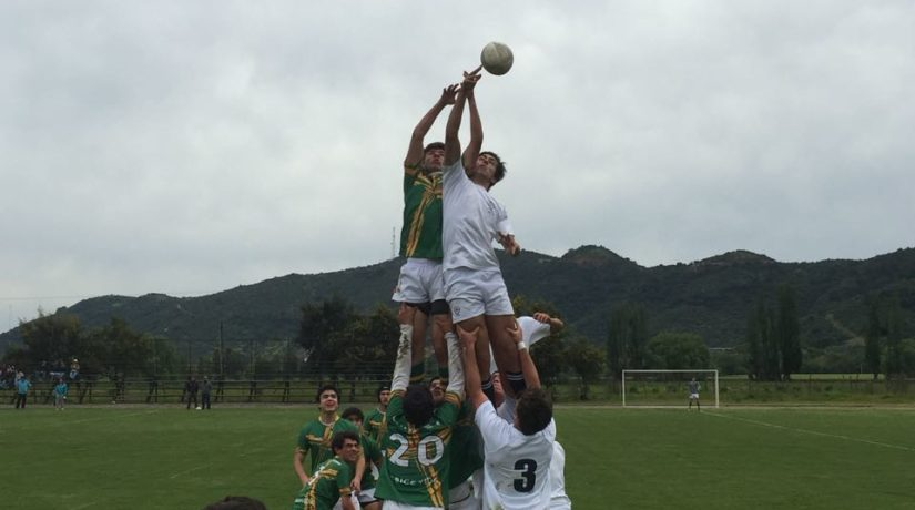 Rugby Senior vs Orchard College en Curicó
