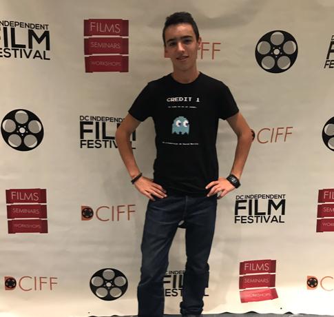 David Murillo: 3er lugar Festival de Cine Independiente de Washington