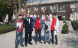 Estudiantes de II Medio participan del congreso Kosmopolitis