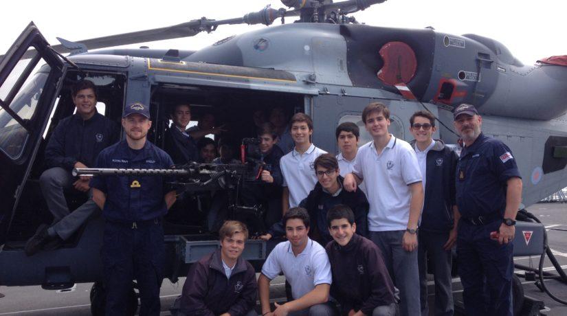 Visita a Fragata HMS Montrose
