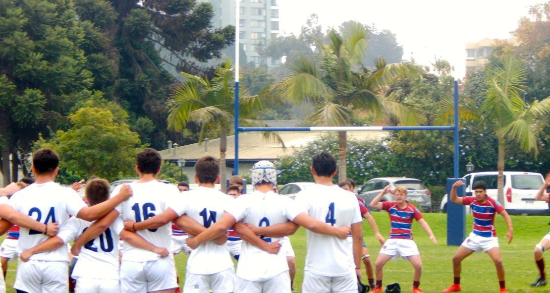 Rugby vs St John's Hastings de Nueva Zelanda