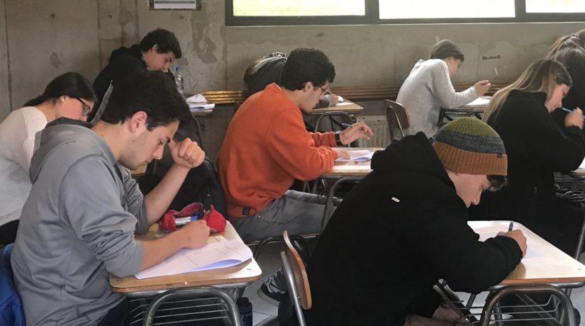 Ensayo PSU mixto en The Mackay School