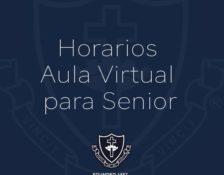 Horarios Aula Virtual para Senior