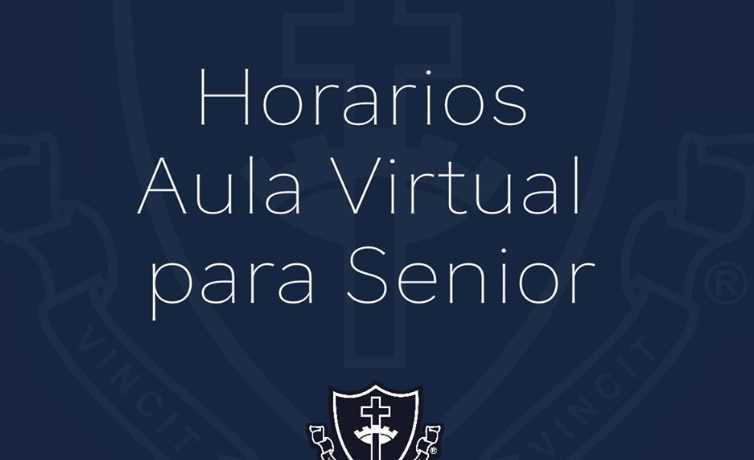 Horarios Aula Virtual para Senior