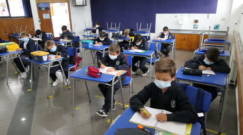 The Mackay School vuelve a clases presenciales con gran asistencia de alumnos